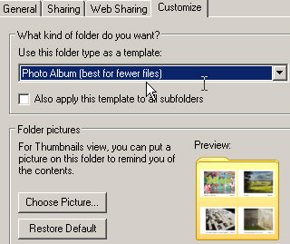 windows 7 how to make locked appear in folder icon